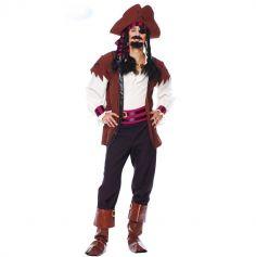 déguisement de pirate des sept mers pour homme | jourdefete.com