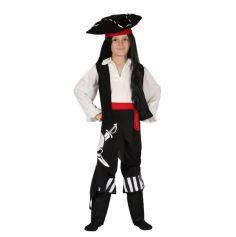 Déguisement Pirate garcon avec tête de mort | jourdefete.com