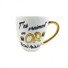 mug-anniversaire-or-cadeau | jourdefete.com