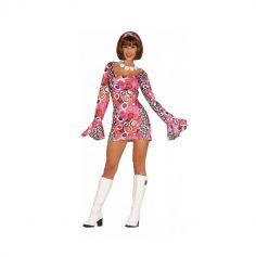 deguisement robe et bandeau disco taille au choix   jourdefete.com