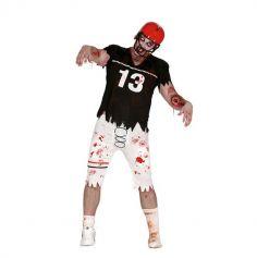 Déguisement Rugbyman Zombie - Taille au choix