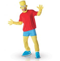 Costume Simpson Bart Licence Adulte