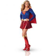 Déguisement Super Girl Licence Femme