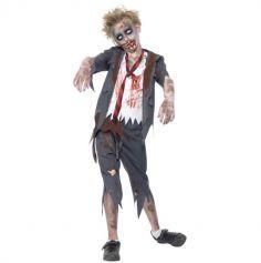 déguisement-zombie-ecolier-halloween | jourdefete.com