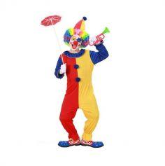 Costume de Clown Coloré Enfant - Taille au Choix
