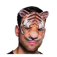 Demi-Masque de Tigre Adulte