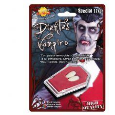 Accessoire Dents de Vampire Réalistes