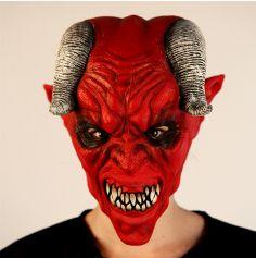 Masque Intégral en Latex de Démon des Enfers