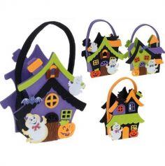 Panier en Feutrine pour Halloween - Modèle au Choix