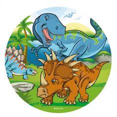 disque azyme dinosaures | jourdefete.com