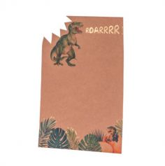 invitations-anniversaire-dinosaure-jungle | jourdefete.com