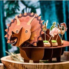 Présentoir Dinosaure en Carton