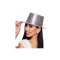 chapeau-argent-paillettes-disco | jourdefete.com