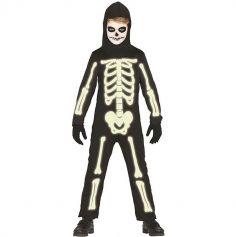 Déguisement de Squelette Garçon - Taille au Choix