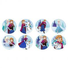 16 Disques en Azyme pour Cupcakes La Reine des Neiges