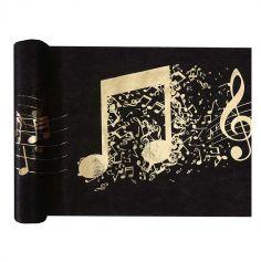 chemin-table-disque-or-noir|jourdefete.com