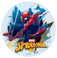Disque en sucre pour gâteau - Spiderman