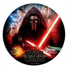 Disque en sucre pour gâteau - Star Wars® | jourdefete.com