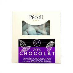 Dragées Séduction Chocolat 500 gr – Bleu ciel