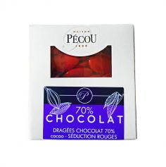 Dragées Séduction Chocolat 500 gr – Rouge