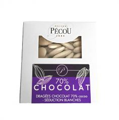 Dragées Séduction Chocolat 500 gr – Blanc