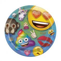 assiette-emoji-rainbow|jourdefete.com