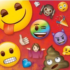 serviettes-jetables-smiley-emoji | jourdefete.com