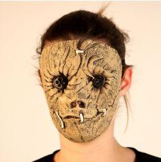 Masque en Latex d'Épouvantail