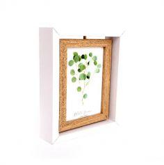 Cadre Photo Tournant en Bois - 21 cm