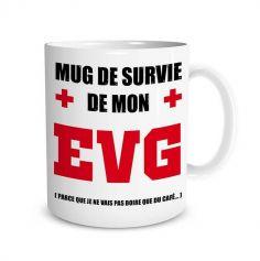 Mug Enterrement de Vie de Garçon | jourdefete.com
