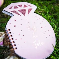 Carnet Diamant - EVJF de Folie - Rose Gold