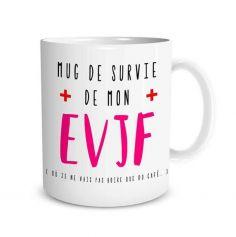 Mug pour la Future Mariée - Enterrement de Vie de Jeune Fille | jourdefete.com