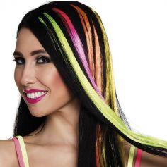 Extension de Cheveux - Mèche Fluo - Couleur au Choix | jourdefete.com