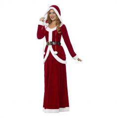 Déguisement de Mère Noël Deluxe pour Femme - Taille au Choix