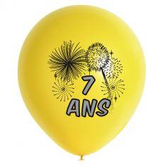 10 Ballons de Baudruche multicolore 7 ans