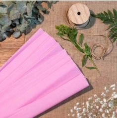 papier-crepon-carnaval-diy-rose-lilas | jourdefete.com