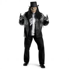 Déguisement de zombie squelette homme