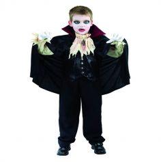 Déguisement de Vampire Garçon Sanglant - Taille au Choix