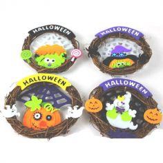 Couronne décorative d'Halloween - Modèle au choix