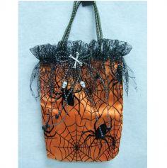 Sac à Main pour Halloween - Araignée - Orange