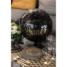 Ballon en aluminium Bonne Année - 45 cm