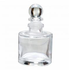 Flacon avec Bouchon en Verre  - Cylindrique | jourdefete.com