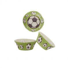 caissettes cupcakes football | jourdefete.com