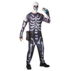 FORTNITE Costume Skull Trooper - Adulte- Taille au choix | JOURDEFETE.COM
