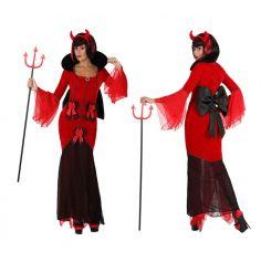 Déguisement de Diablesse Somptueuse Femme - Taille au Choix
