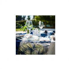 chemin-table-lin-mariage | jourdefete.com