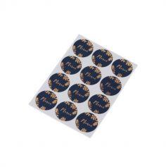 stickers-merci-fougere-bleu | jourdefete.com