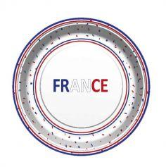 8 assiettes carton france | jourdefete.com