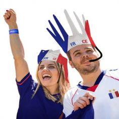 Couronne de supporters sifflante - France | jourdefete.com
