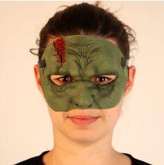Demi-Masque en Latex de Frankenstein